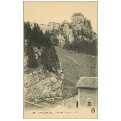 carte postale ancienne 25 PONTARLIER. Le Fort de Joux
