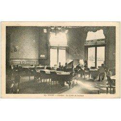 carte postale ancienne 03 VICHY. Casino Salle de lecture 1931