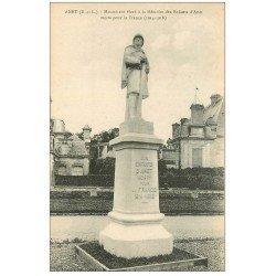 carte postale ancienne 28 ANET. Monument aux Morts pour la France