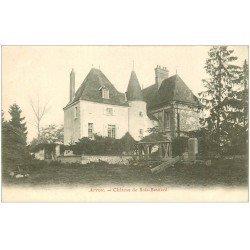 carte postale ancienne 28 ARROU. Château de Bois-Besnard