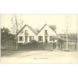 carte postale ancienne 28 ARROU. Les Chalets vers 1900