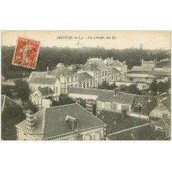 carte postale ancienne 28 ARROU. Vue générale 1919