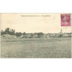 carte postale ancienne 28 AUNAY-SOUS-AUNEAU. Le Village 1933