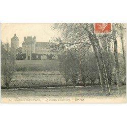 carte postale ancienne 28 AUNEAU. Château façade Nord 1910