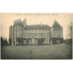carte postale ancienne 28 AUNEAU. Château façade Nord 2