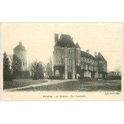 carte postale ancienne 28 AUNEAU. Château vue ensemble