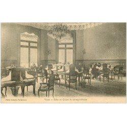 carte postale ancienne 03 VICHY. Casino Salon de correspondances vers 1900