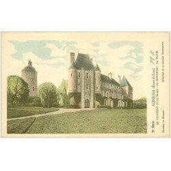 carte postale ancienne 28 AUNEAU. La Château. Poterne et Tour. Carte notice