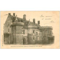 carte postale ancienne 28 BONNEVAL. Abbatiale ancienne Abbaye 1902
