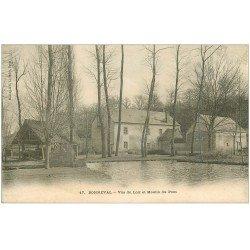 carte postale ancienne 28 BONNEVAL. Moulin du Pont sur le Loir