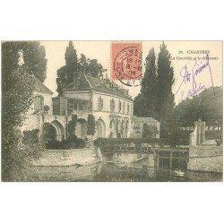 carte postale ancienne 28 CHARTRES. Courtille et Déversoir 1905