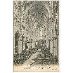 carte postale ancienne 28 CHARTRES. Eglise Saint-Pierre