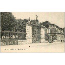 carte postale ancienne 28 CHARTRES. Hôtel-Dieu