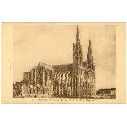carte postale ancienne 28 CHARTRES. La Cathédrale 56