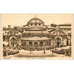 carte postale ancienne 03 VICHY. Casino. un Concert. La Cigogne 311