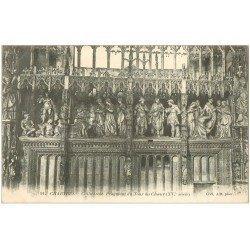 carte postale ancienne 28 CHARTRES. La Cathédrale Fragment Tour du Choeur 1906