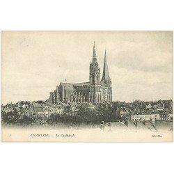 carte postale ancienne 28 CHARTRES. La Cathédrale ND Phot