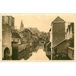 carte postale ancienne 28 CHARTRES. L'Eure au Pont Saint-Hilaire