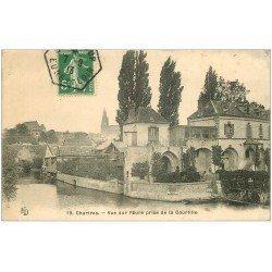 carte postale ancienne 28 CHARTRES. L'Eure des Courtilles 1913