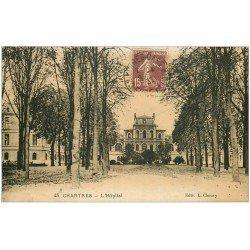 carte postale ancienne 28 CHARTRES. L'Hôpital 1932
