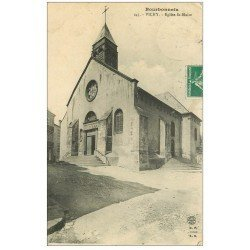 carte postale ancienne 03 VICHY. Eglise Saint-Blaise 1911