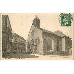 carte postale ancienne 03 VICHY. Eglise Saint-Blaise 1926
