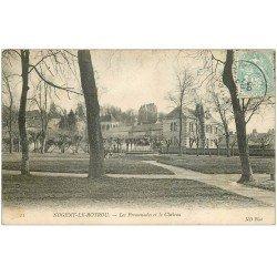 carte postale ancienne 28 NOGENT-LE-ROTROU. Château et Promenades 1905