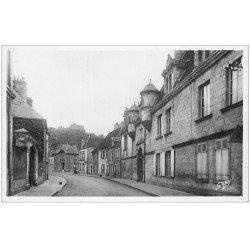 carte postale ancienne 28 NOGENT-LE-ROTROU. Collège Rue Saint-Laurent. Carte Photo