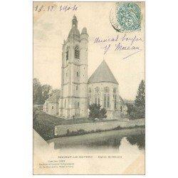 carte postale ancienne 28 NOGENT-LE-ROTROU. Eglise Saint-Hilaire 1904
