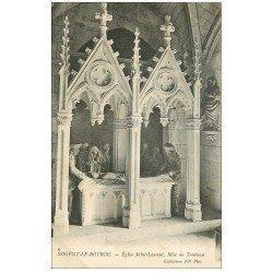 carte postale ancienne 28 NOGENT-LE-ROTROU. Eglise Saint-Laurent. Mise au Tombeau 1905