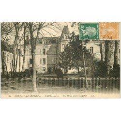 carte postale ancienne 28 NOGENT-LE-ROTROU. Hôtel-Dieu 1924