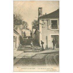 carte postale ancienne 28 NOGENT-LE-ROTROU. Les Marches de Saint-Jean