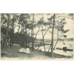 carte postale ancienne 29 BENODET. Bois Sapins de Malakoff