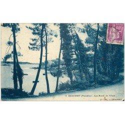 carte postale ancienne 29 BENODET. Bords de l'Odet vers 1932