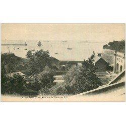 carte postale ancienne 29 BREST. La Rade n°27