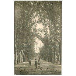carte postale ancienne 29 BREST. Le Cours d'Ajot 1904