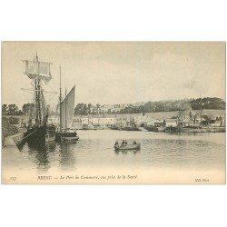 carte postale ancienne 29 BREST. Port de Commerce