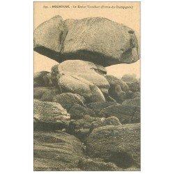 carte postale ancienne 29 BRIGNOGNAN. Rocher Tremblant Champignon