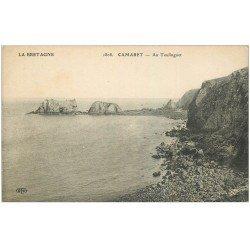 carte postale ancienne 29 CAMARET-SUR-MER. Au Toulinguet