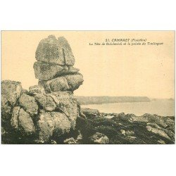 carte postale ancienne 29 CAMARET-SUR-MER. Tête de Bolchevick Pointe Toulinguet