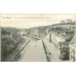 carte postale ancienne 29 MORLAIX. Bassin, Caserne et Caisse d'Epargne