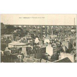 carte postale ancienne 29 MORLAIX. Panorama Ville