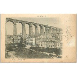 carte postale ancienne 29 MORLAIX. Viaduc 1902