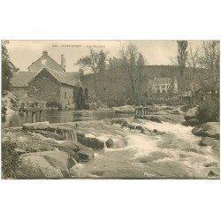 carte postale ancienne 29 PONT-AVEN. Les Moulins vers 1900