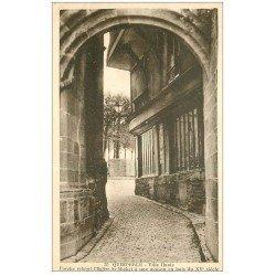 carte postale ancienne 29 QUIMPERLE. Porche
