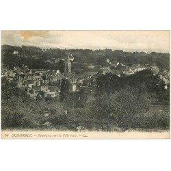 carte postale ancienne 29 QUIMPERLE. Ville basse