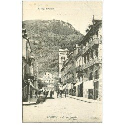carte postale ancienne 31 LUCHON. Avenue Carnot