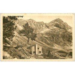 carte postale ancienne 31 LUCHON. Hotellerie Refuge Val d'Arouge Lac d'Espingo