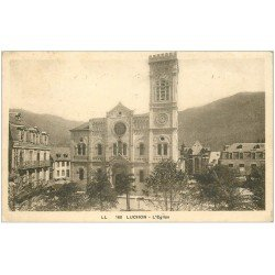 carte postale ancienne 31 LUCHON. L'Eglise 1936