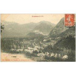 carte postale ancienne 31 LUCHON. Vallées et Saint-Boat 1912